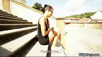 public bang with teenage euro biotch for cash 11