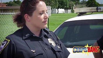 pallid bootie cops sate a dark-hued.