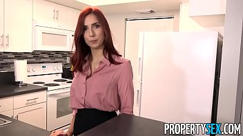 propertysex - steamy red-haired real estate agent smashes.