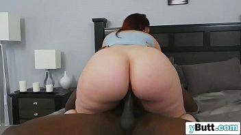 brilliant phat backside dark-hued-haired wifey dt oral gigantic.