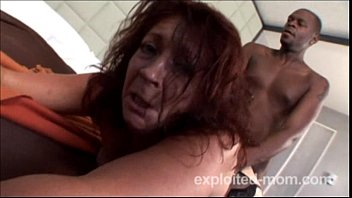 mature pierced cougar gets pummeled by good-sized dark-hued.