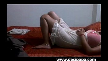 married indian duo homemade bang-out wifey laying bare.