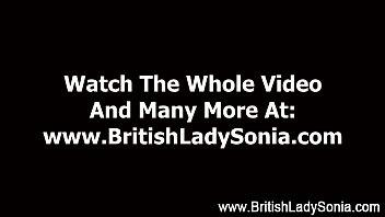 mature girl dom stocking brit female sonia hand job