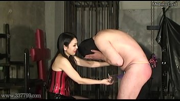 japanese damsel dominance corporal restraint wood ball torment.