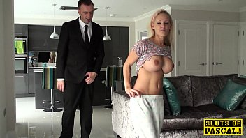 bigtitted english victim doggystyled and toyed