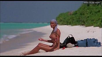 bo derek - bare on the beach demonstrates.