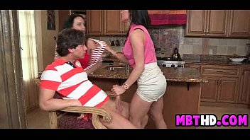mommy and daughter-in-law kitchen fuck-fest  2  002