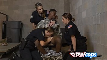 raw cougar officers four-way with a.