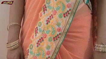 diva dangle saree dressed in   blend.