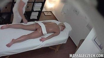 steamy czech blondie gets boned during.