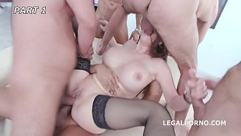 cathy heaven gets the group rip up rump.