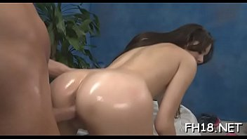 nubile sweetheart demonstrates her love for jizm-pump of.
