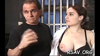 hottie gets spanked toughly
