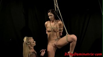 euro victim dyke tantalized by domme