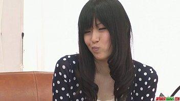 nozomi koizumi takes off bare and gives an.
