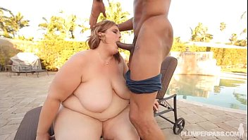ample bum ssbbw screws large dark-hued fellow out.