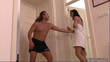 boy catch father pounding his gf - naija erotica