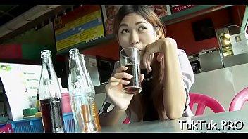 horny boy picks up a thai superslut and.