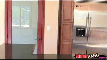 rikki six blasted her beau pulverizing with step-mom.