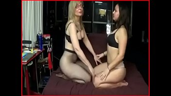 cougar step-mother gives a spanking girl/girl witness part.