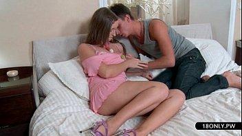 mischievous student gets her undies raw