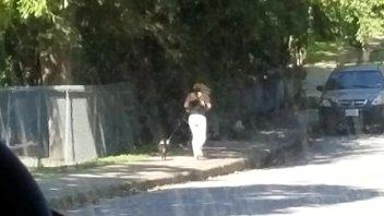 spycam webcam- fit damsel jogging