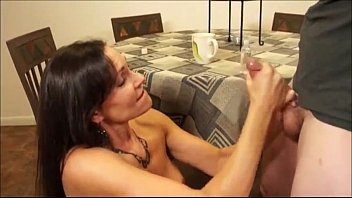 humungous-boobed dame wants this youthful rod