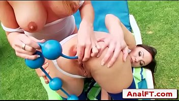 rectal acrobats - alysa and isabella.