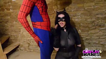 harmony reigns - catwoman v spider-guy