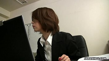 japanese office damsel tsubaki face sitting the sissy guy