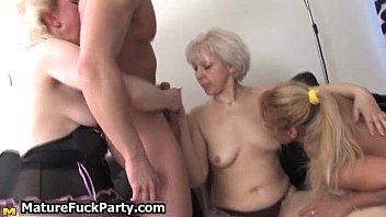 3 mature moms in gorgeous underwear