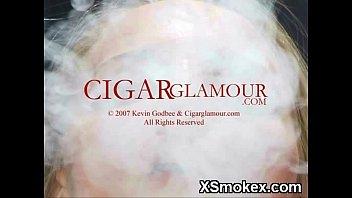 aromatic damsel smoking horny hook-up
