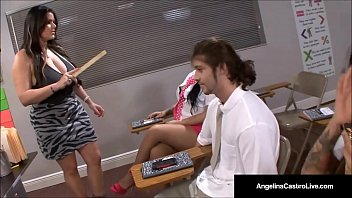 cuban instructor angelina castro makes school dolls fap chisel