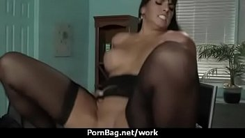 big-titted woman is desperate for a hoist and.