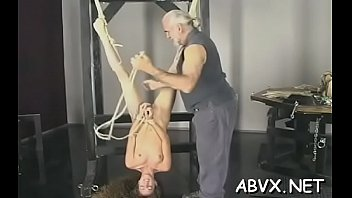 extreme confine bondage flick with bombshell complying the.