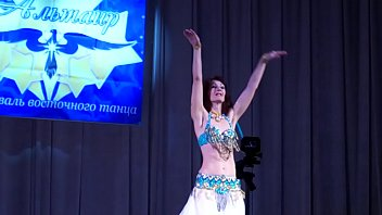 my debut at the compete of oriental dance.
