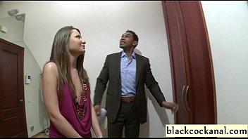 interracial gang-ravage gal with dark-hued dicks