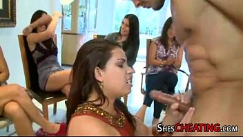 hen soiree with fat-firm-on masculine-strippers