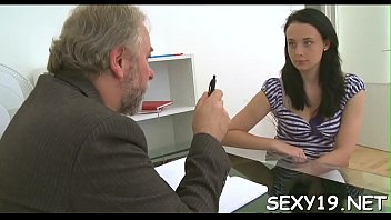 elderly tutor is having pleasure humping young babe039_s.