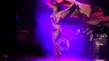 dannie diesel aka danielle colby performs with bustout.