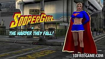 3 dimensional supergirl gets porked by a musclular guy