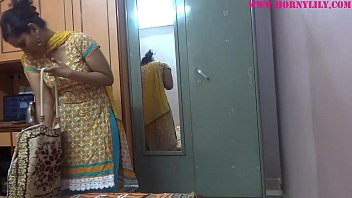 indian stunner lily spy web cam spin have fun