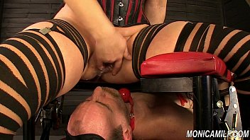 monicamilf is squiring on her nymph domination victim.