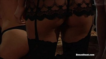 victim lashed and spanked by dominatrix