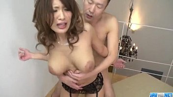 giant orbs yume mizuki deals two masculines in hard-core