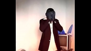 dark-hued fellow bangs the song
