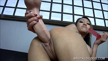 puny chinese jayden lee feeding her snatch a.