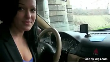 nubile euro hoe porked in public for cash 26