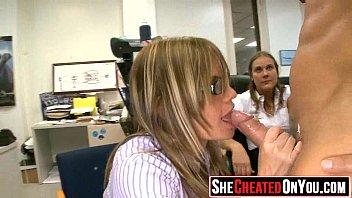 40 ladies caught on camera blowing.