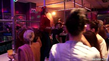 supah-naughty lesbos pummeling in the club